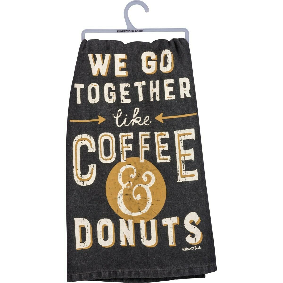 Coffee & Donuts Towel
