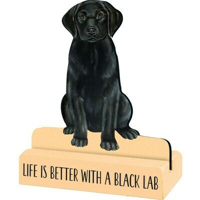 Black Lab Stand Up