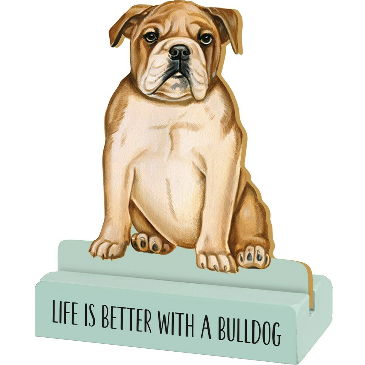 Bulldog Stand Up