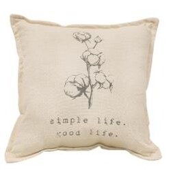 Simple Life Pillow