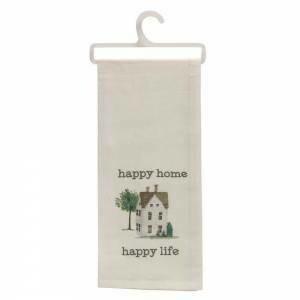 Happy Home Happy Life Towel