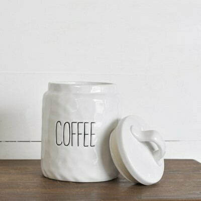 Long Letter Coffee Canister
