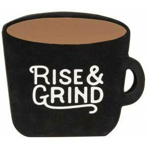 Rise & Grind Coffee Cup Block