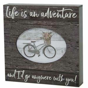 Life Adventure Box Sign