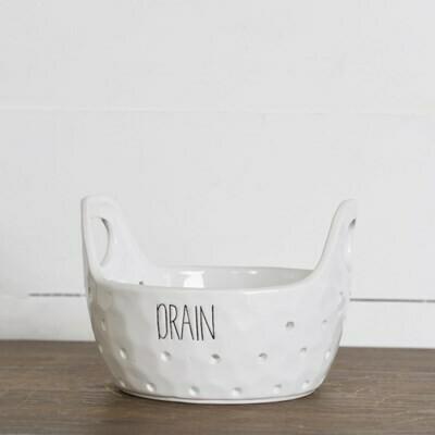 Ceramic Drainer