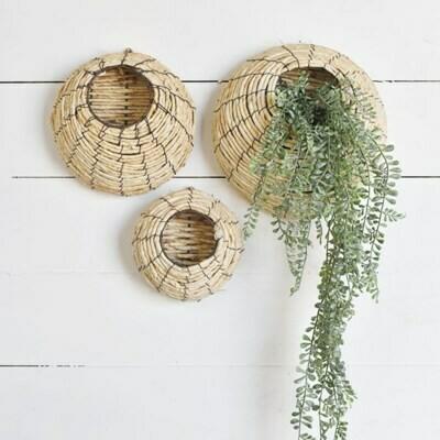 Sm Nest Wall Basket