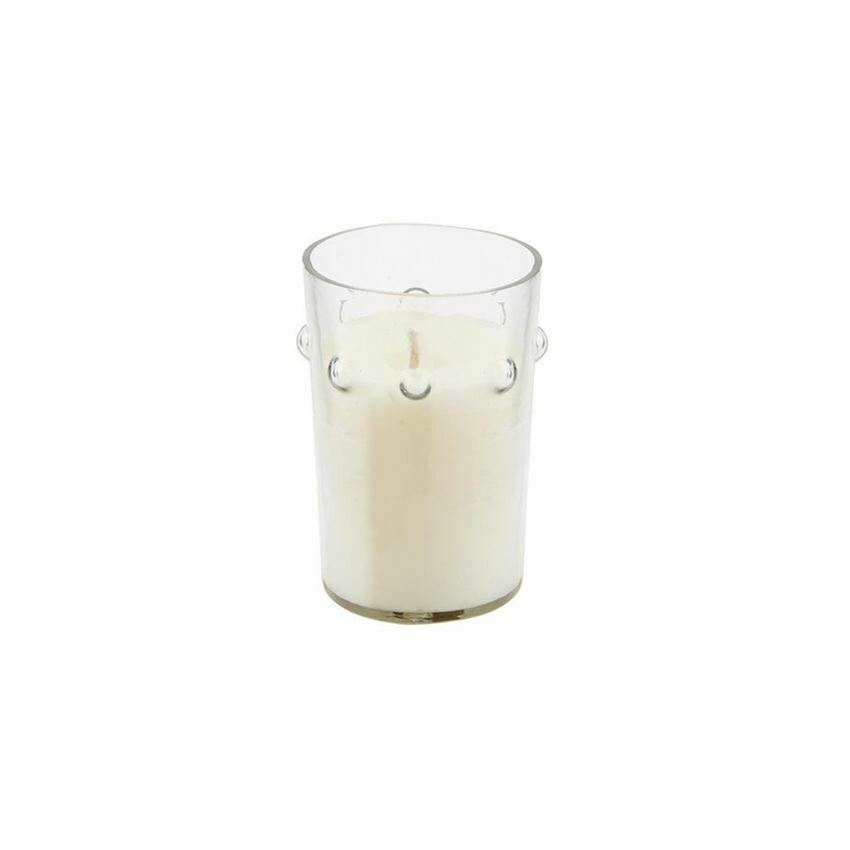 Tall Cut Beaded Candle