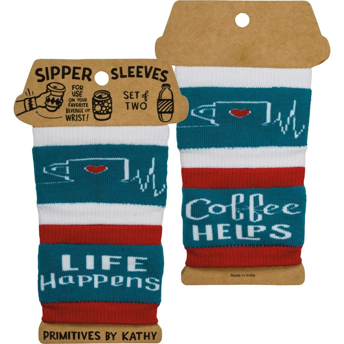 Life Happens Sipper Sleeves