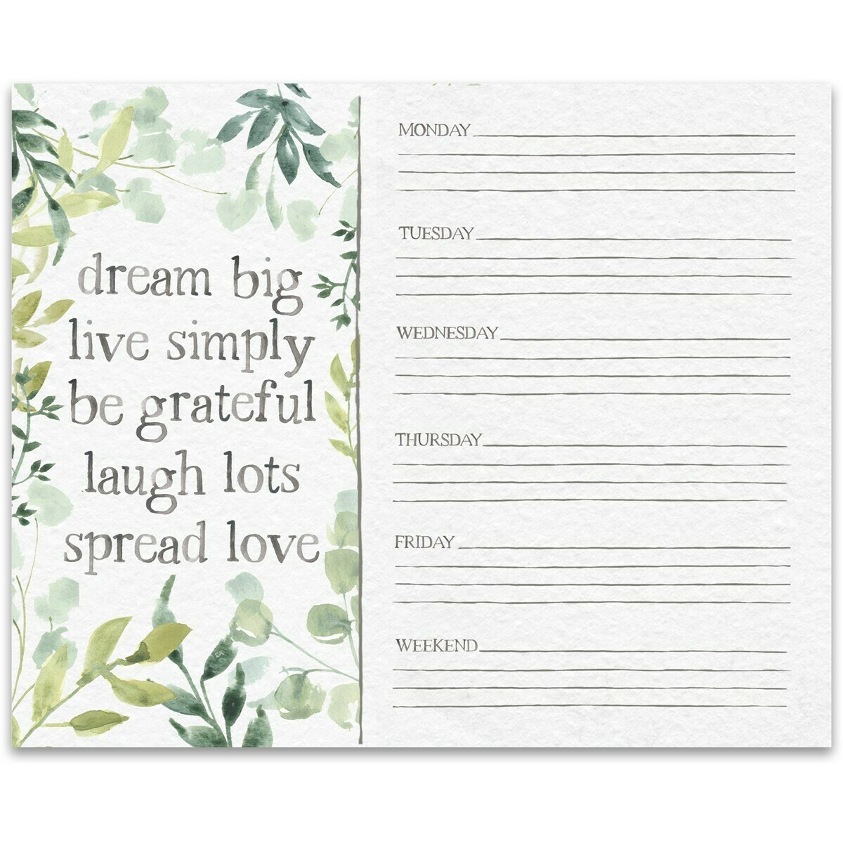 Dream Big Notepad
