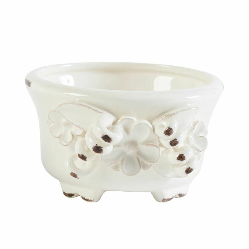 Sm Flower Cache Pot