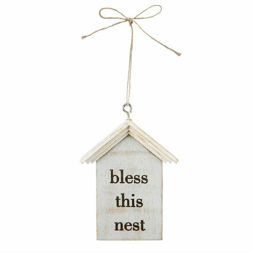 Bless This Nest House Ornament