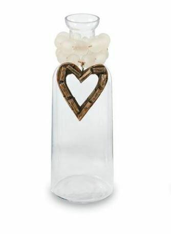 Heart Driftwood Sea Vase