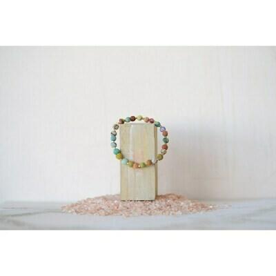 Kantha Beaded Bracelet