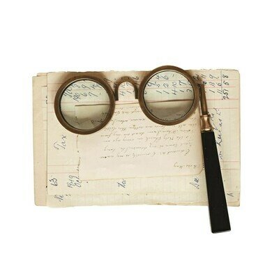 Spectacle Magnifying Glass