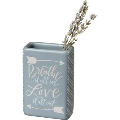 Breathe it All in Bud Vase