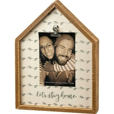 Let's Stay Home House Frame