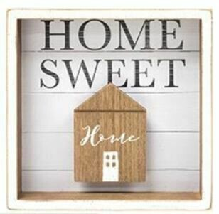 Home Sweet Home Shadow Box Sign
