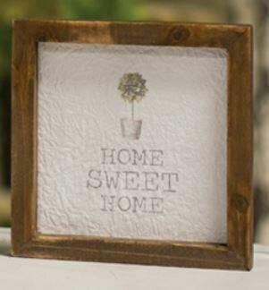 Home Sweet Home Mini Framed Sign