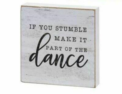 Dance Wood Block