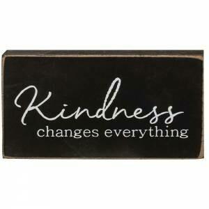 Kindness Wood Block