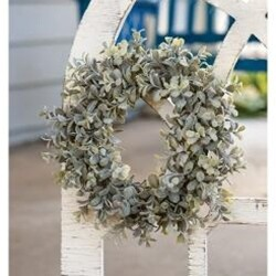 "6"" Pebble Eucalyptus Wreath"