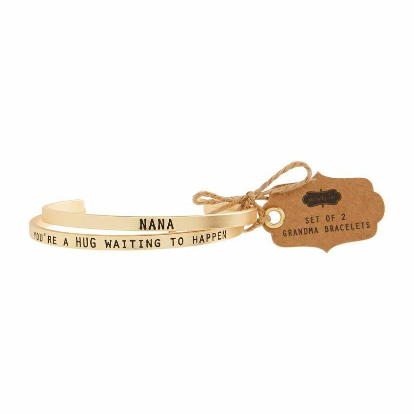 Nana Bangle Bracelet Set