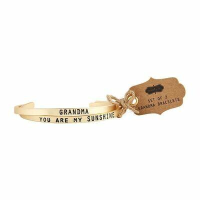 Grandma Bangle Bracelet Set