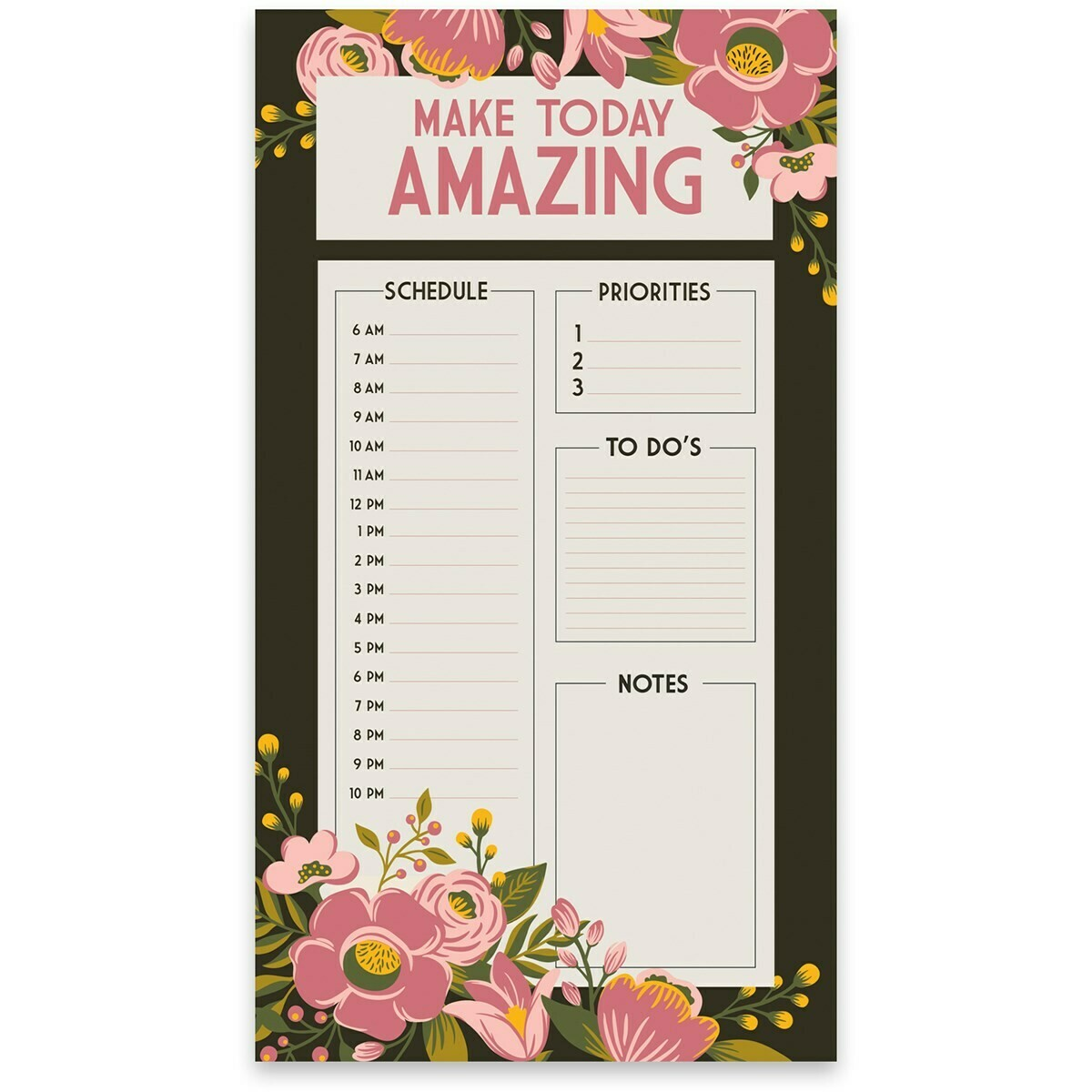 Amazing Daily Planner Notepad