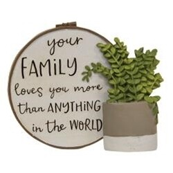 Your Family Resin Plaque