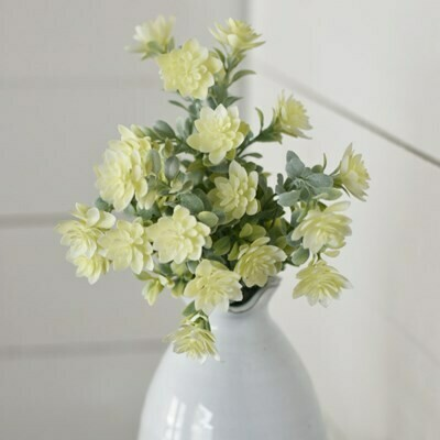 Cream Floral Pick