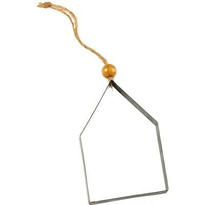 Metal House Ornament