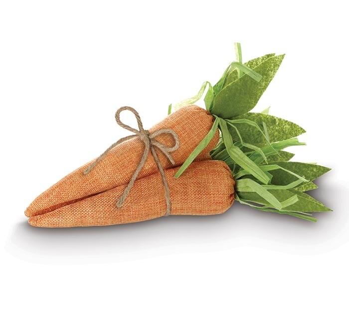 Set of 3 Fabric Carrots