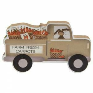 Farm Fresh Carrots Truck Sitter