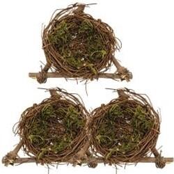 Set of 3 Mini Bird Nests