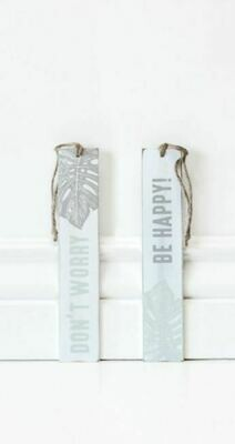 Leaf Wooden Bookmark