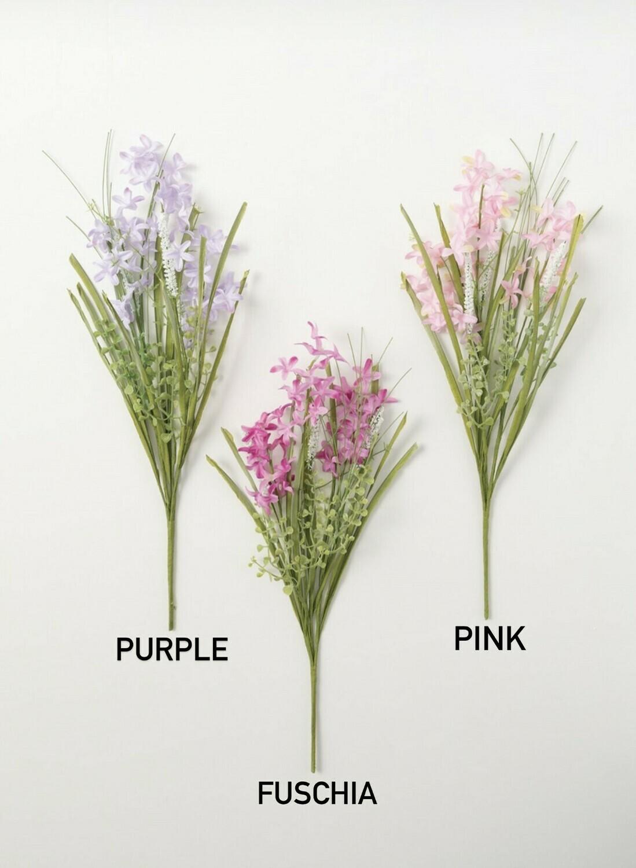 Purple Grass Bush