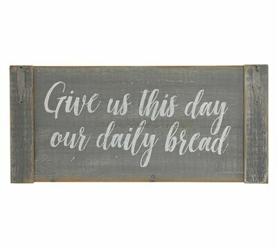 Daily Bread Wall Hanging