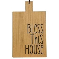 Bless this House Wooden Cutting Board