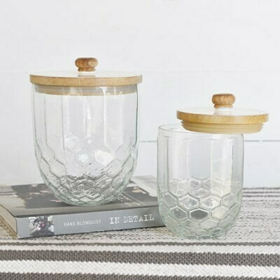 Sm Glass Honeycomb Canister