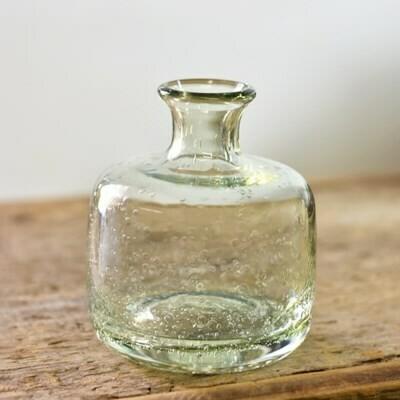 Sm Bubble Glass Vase
