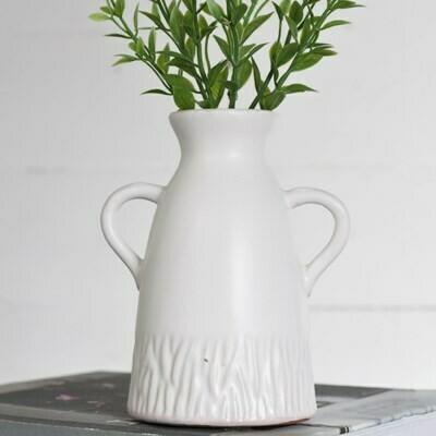 Stripe Handle Jar