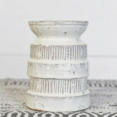 Cream Ceramic Riser