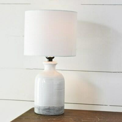 Gray Bottom Lamp