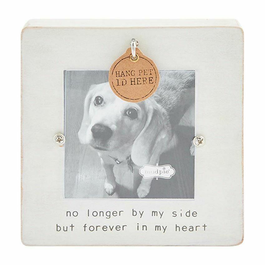 White Remembrance Pet Frame