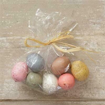 Set of 7 Spring Eggs