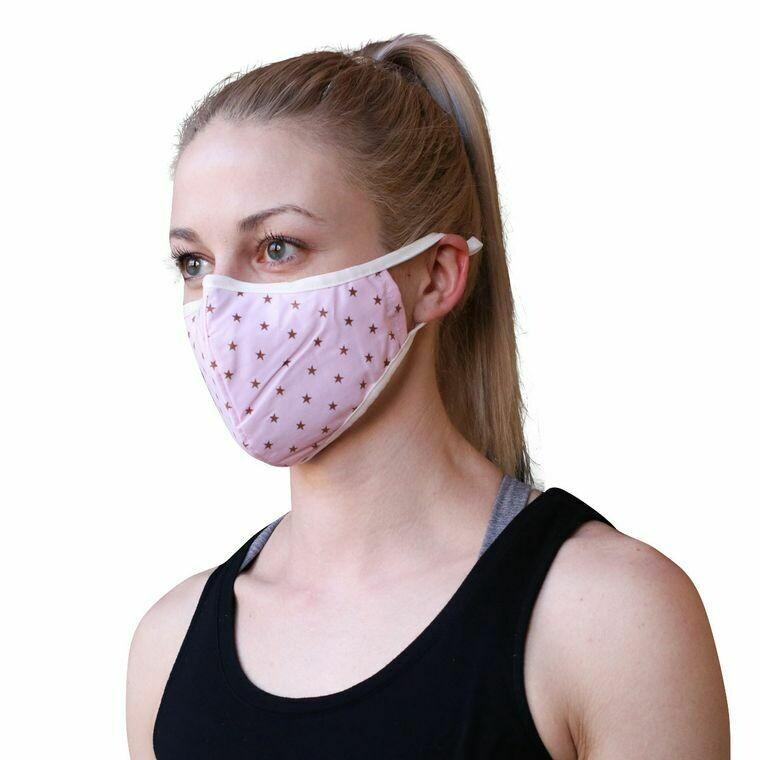 Pink Star Mask