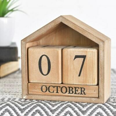 Wooden House Calendar