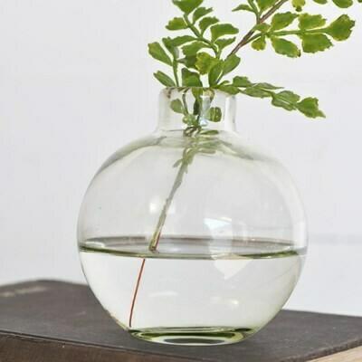 """4"""" Round Glass Vase"""