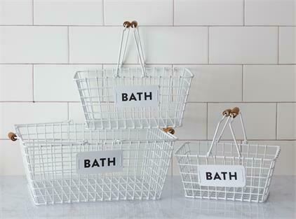 Med Bath Basket