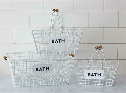 Sm Bath Basket